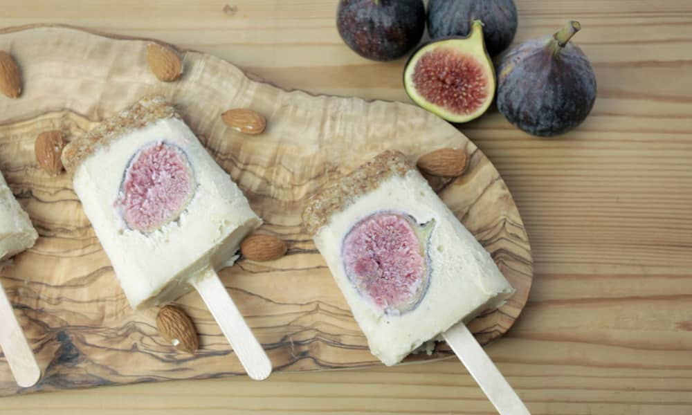 Fig Cheescake Pops
