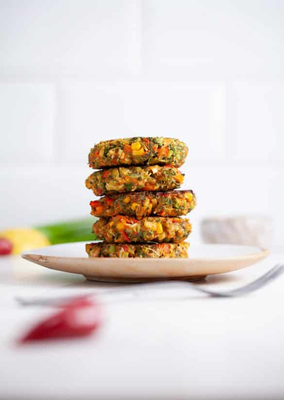 Vegan Spicy Fritters