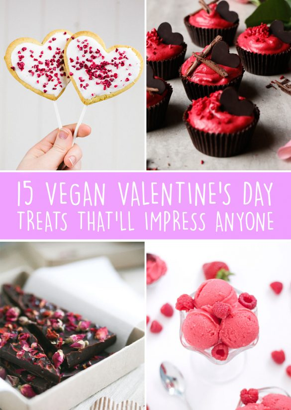 Vegan Valentine's Day Recipes