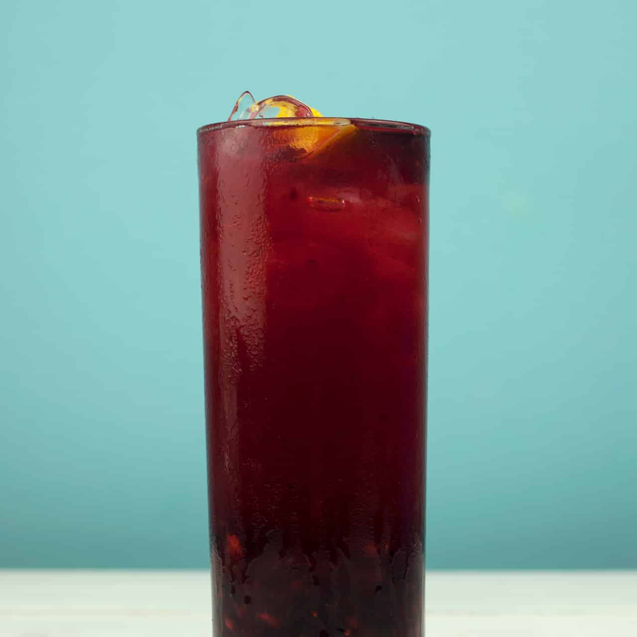 Blackberry Bramble Mocktail