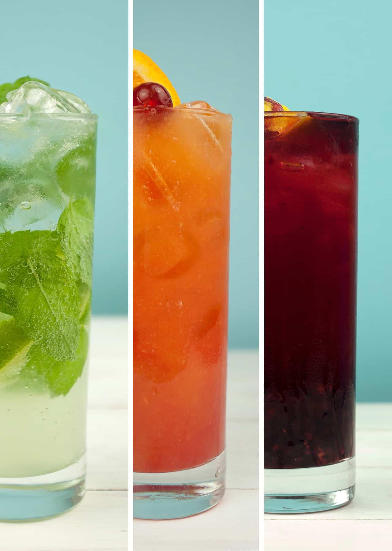 Super Simple Summer Mocktails - So Vegan