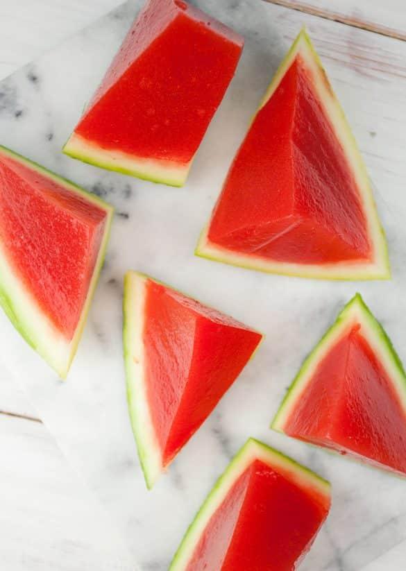 Watermelon Vodka Jelly Shots