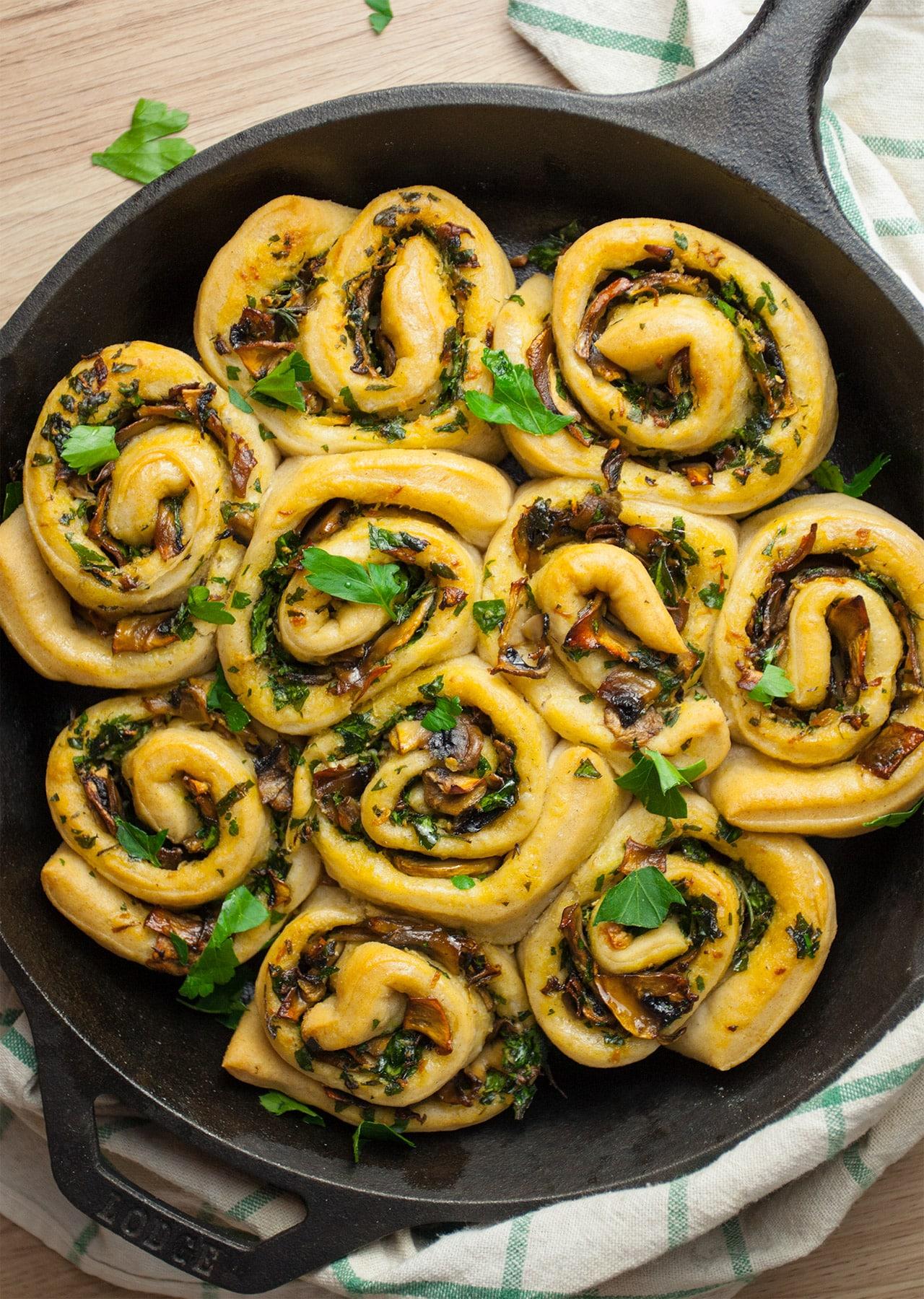 Garlic Bread Swirls