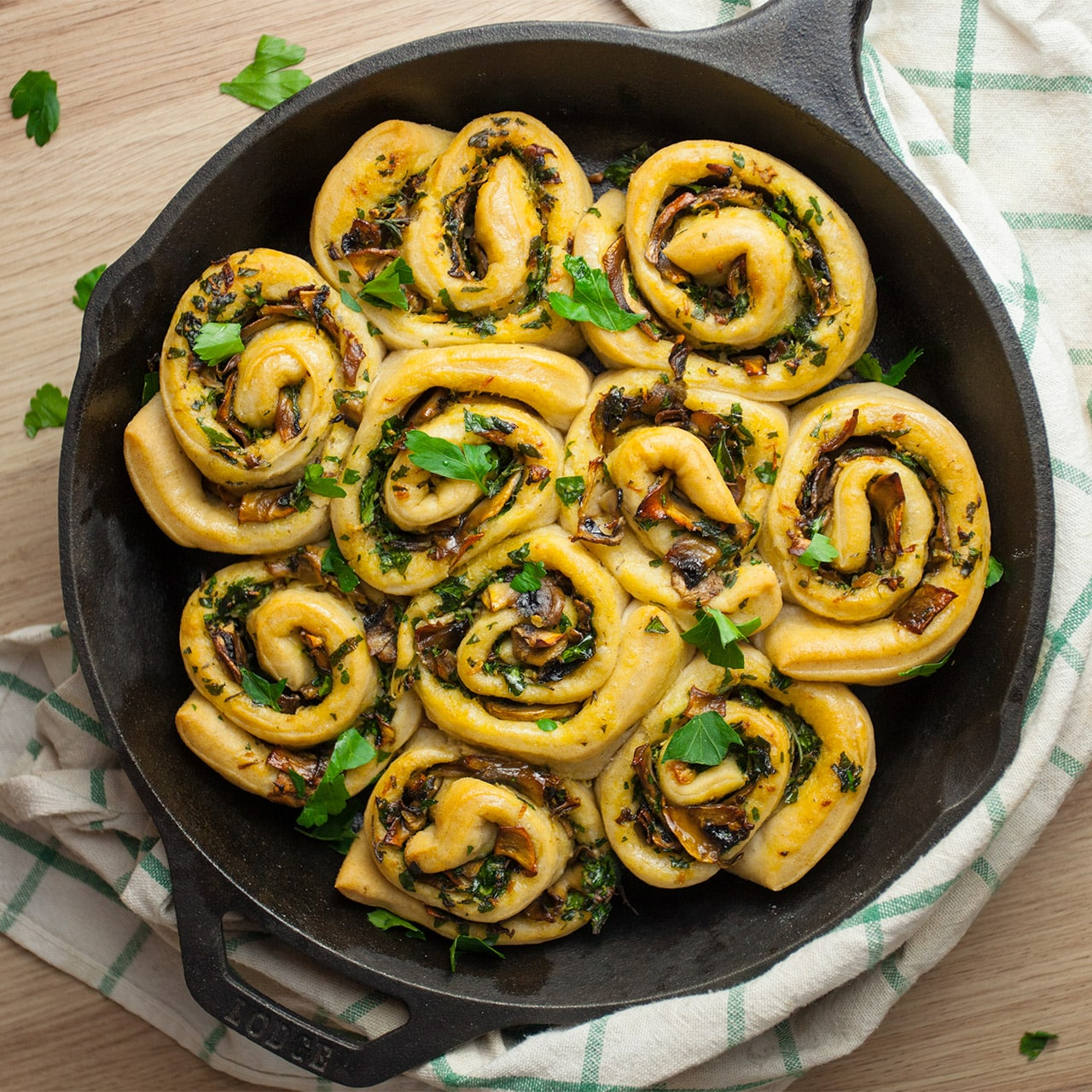 Garlic Bread Swirls