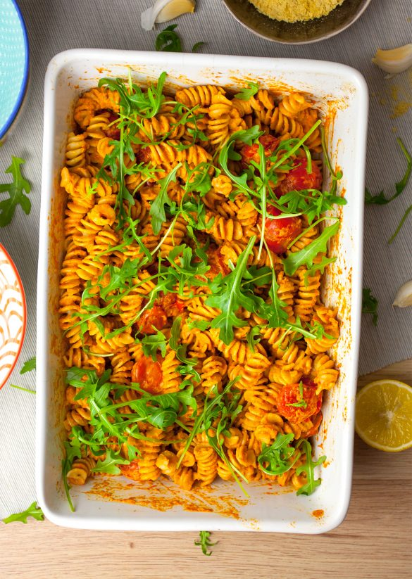 Red Pepper Pesto Pasta