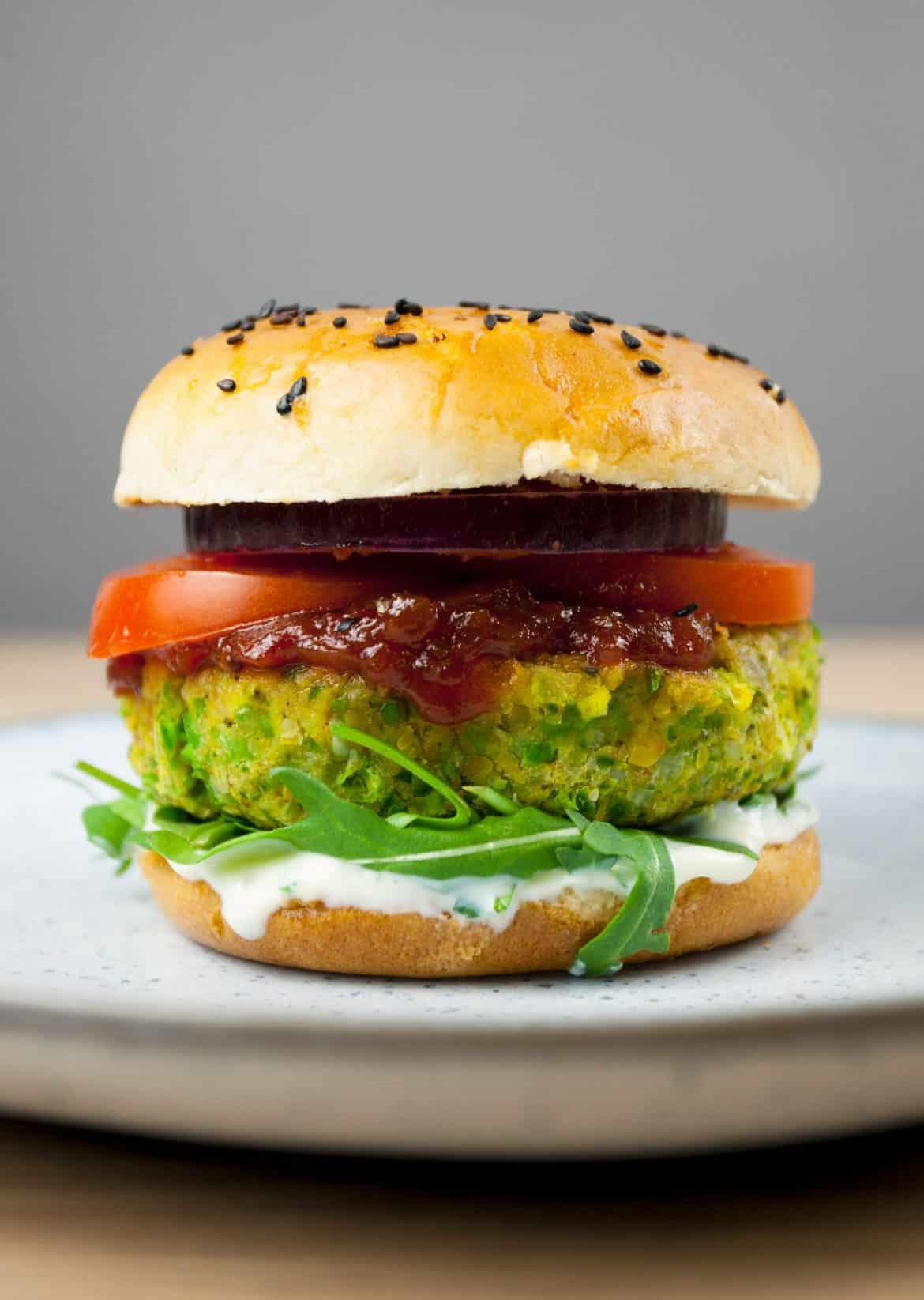 Monster Green Burger