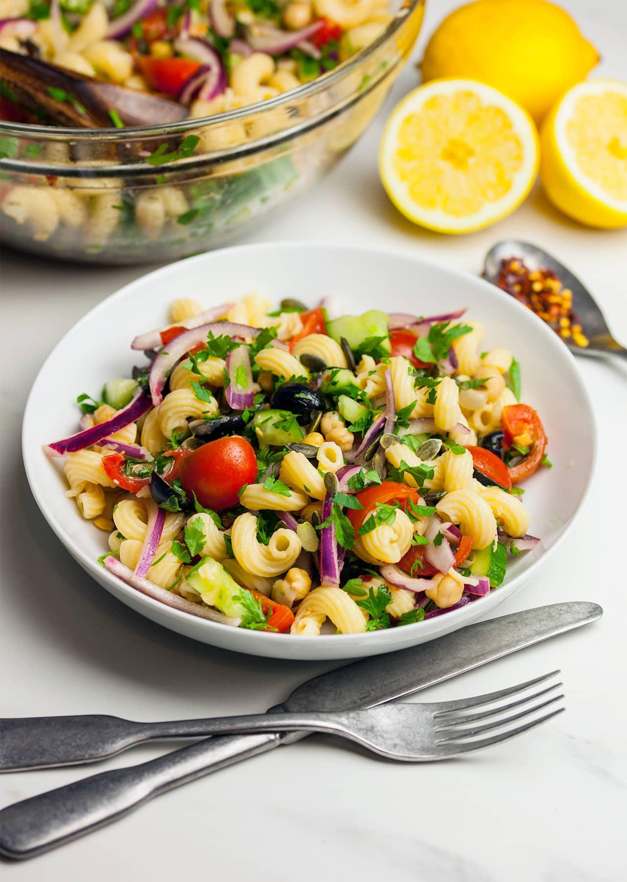 15 Minute Pasta Salad