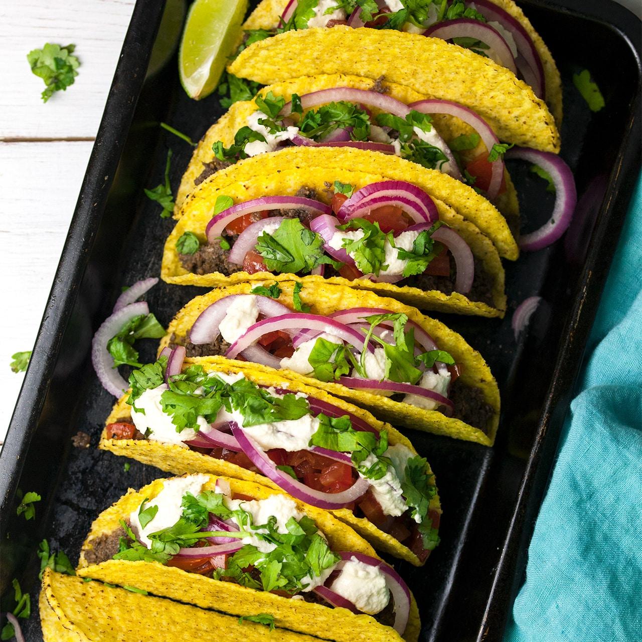 Mushroom 'Meat' Tacos