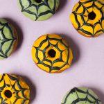 Spooky Spiderweb Doughnuts