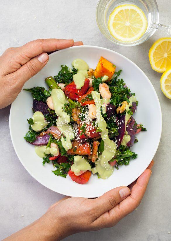 Roast Veg Power Salad