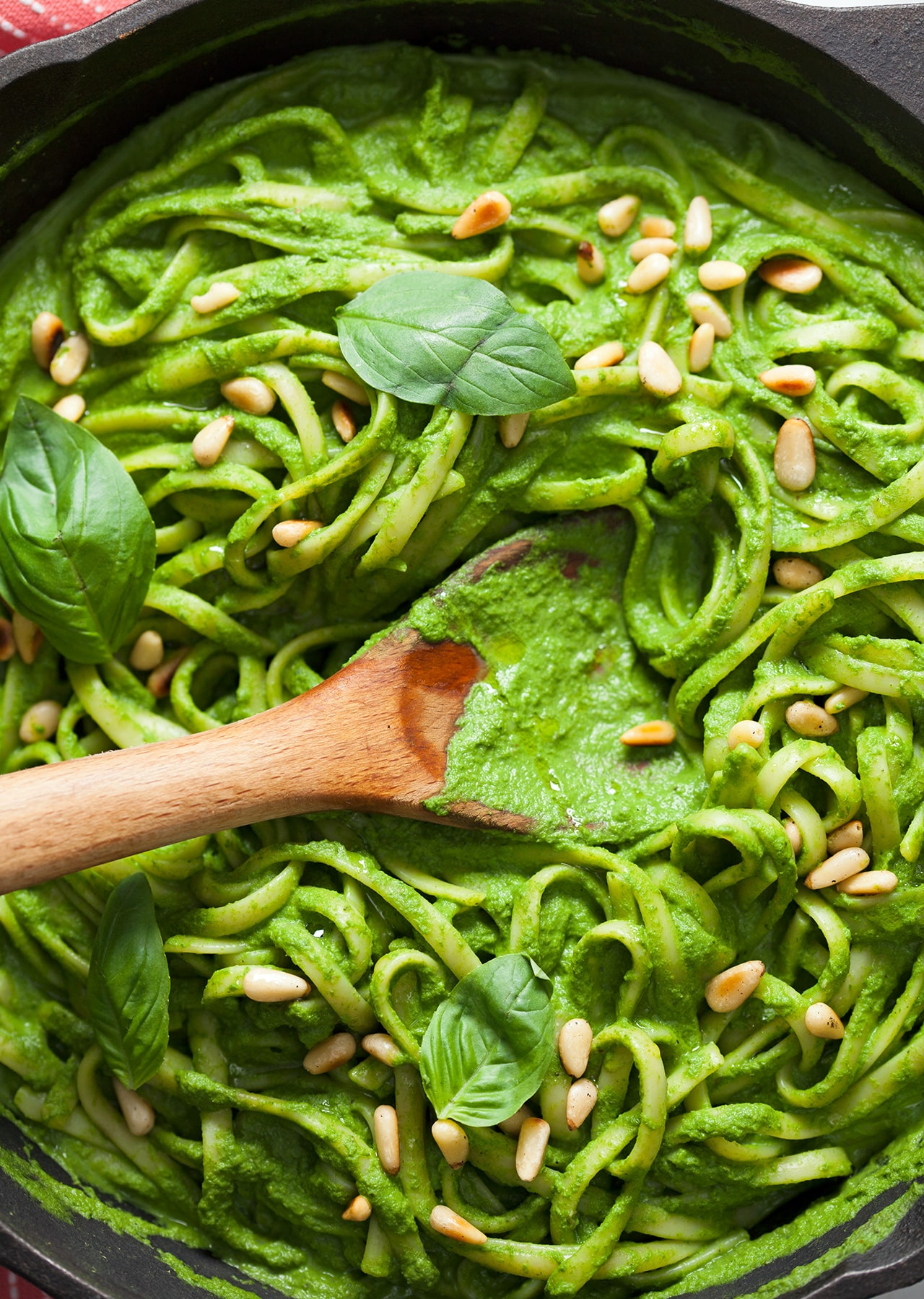 Super Green Linguine Pasta