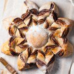 Vegan Nutella Snowflake