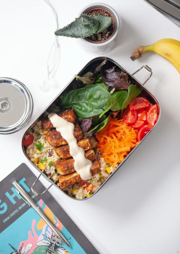Vegan Moroccan Meal Prep