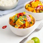 Vegan Sweet Potato Cauliflower Curry