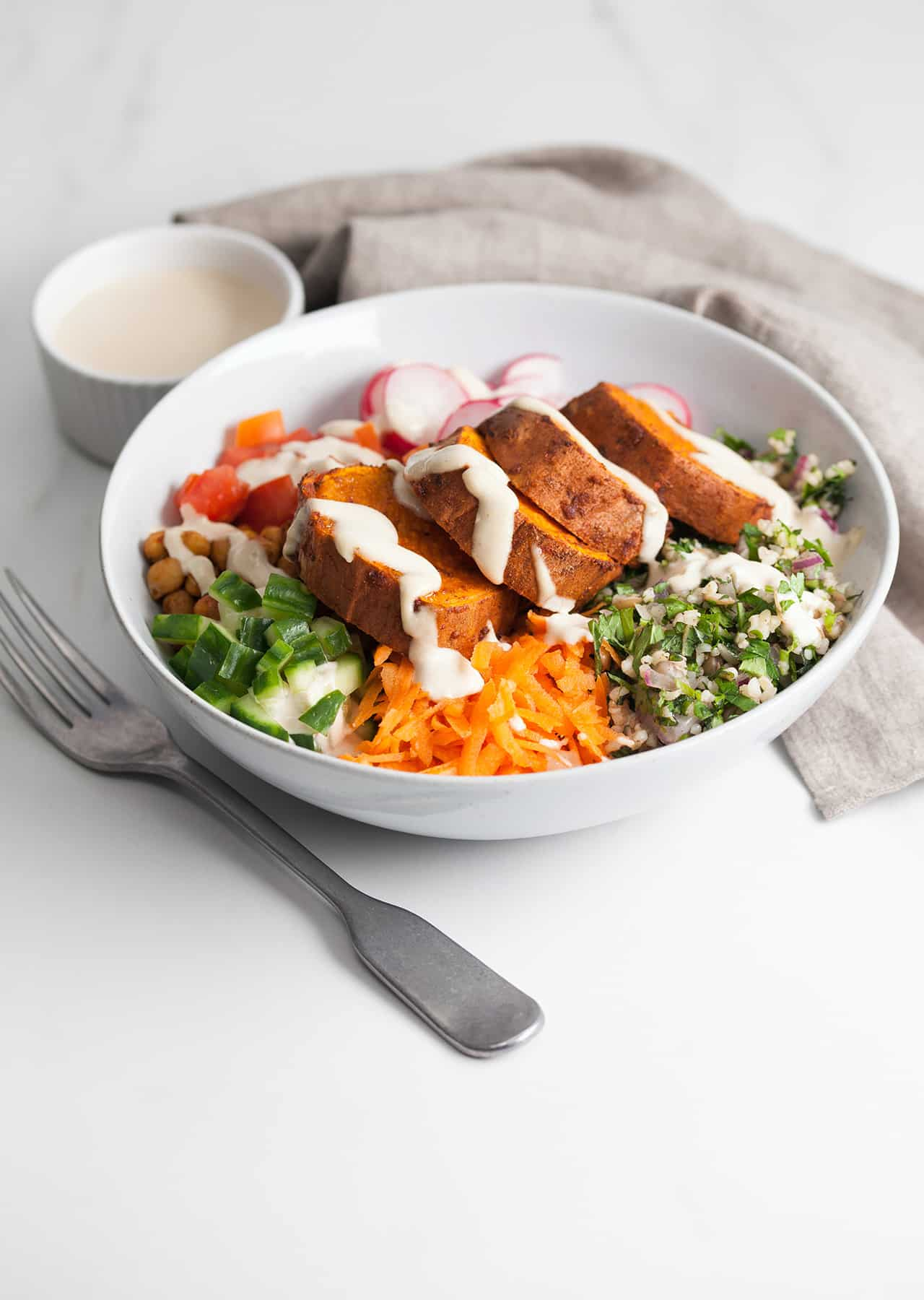 Vegan Sweet Potato Buddha Bowl