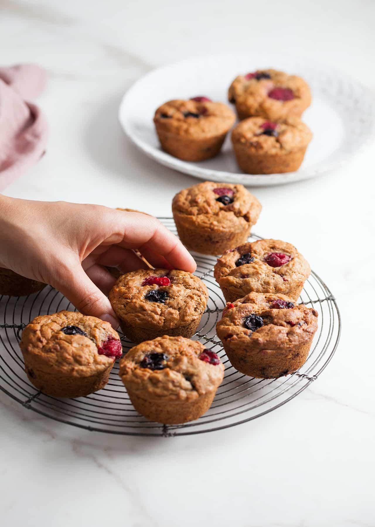 One Bowl Breakfast Muffins So Vegan