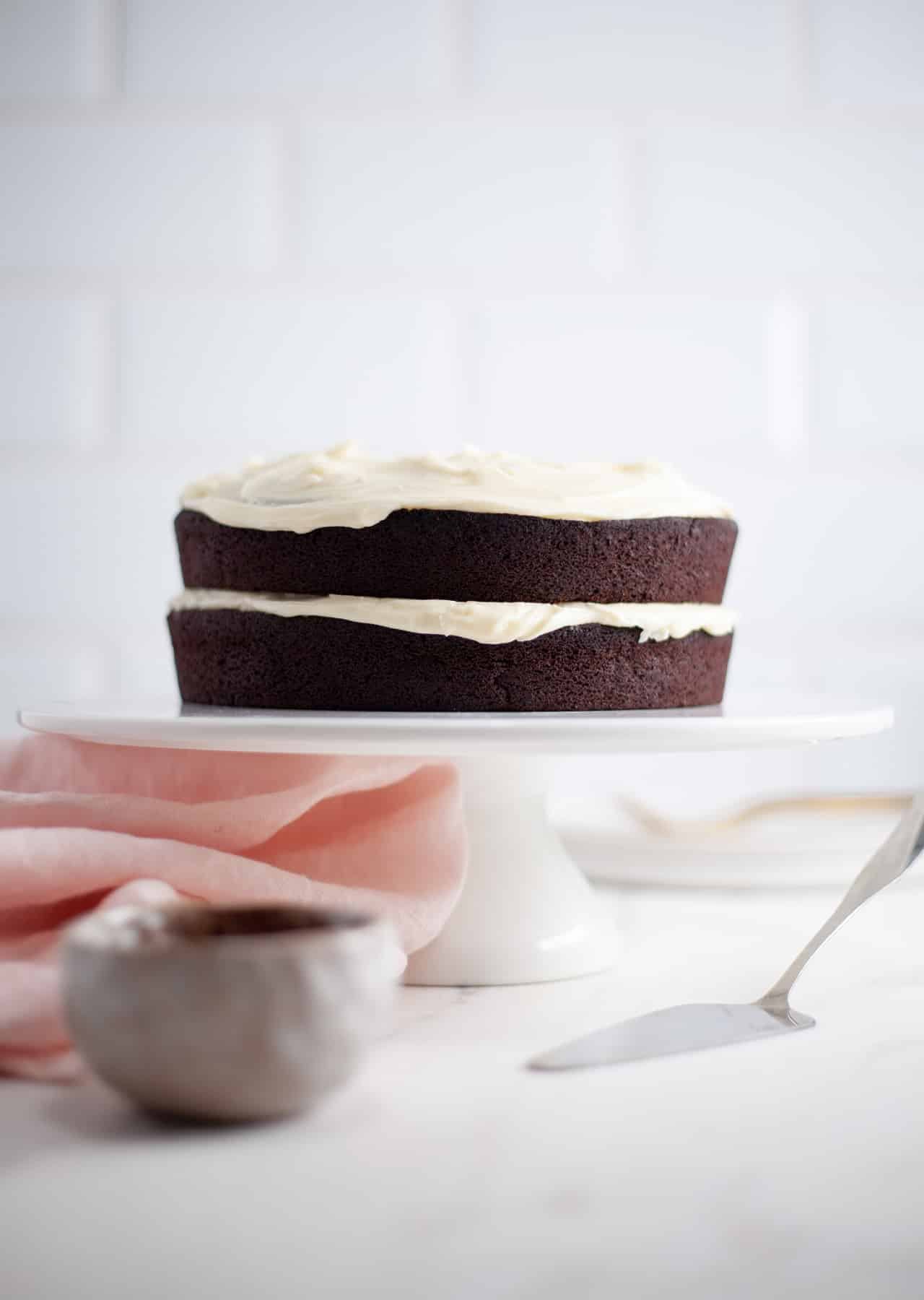 Vegan Chocolate Guinness Cake