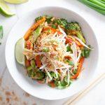 Vegan Thai Zoodles Noodles