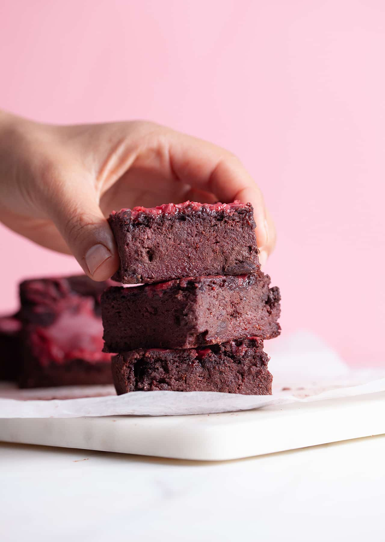 Gooey Beetroot Brownies