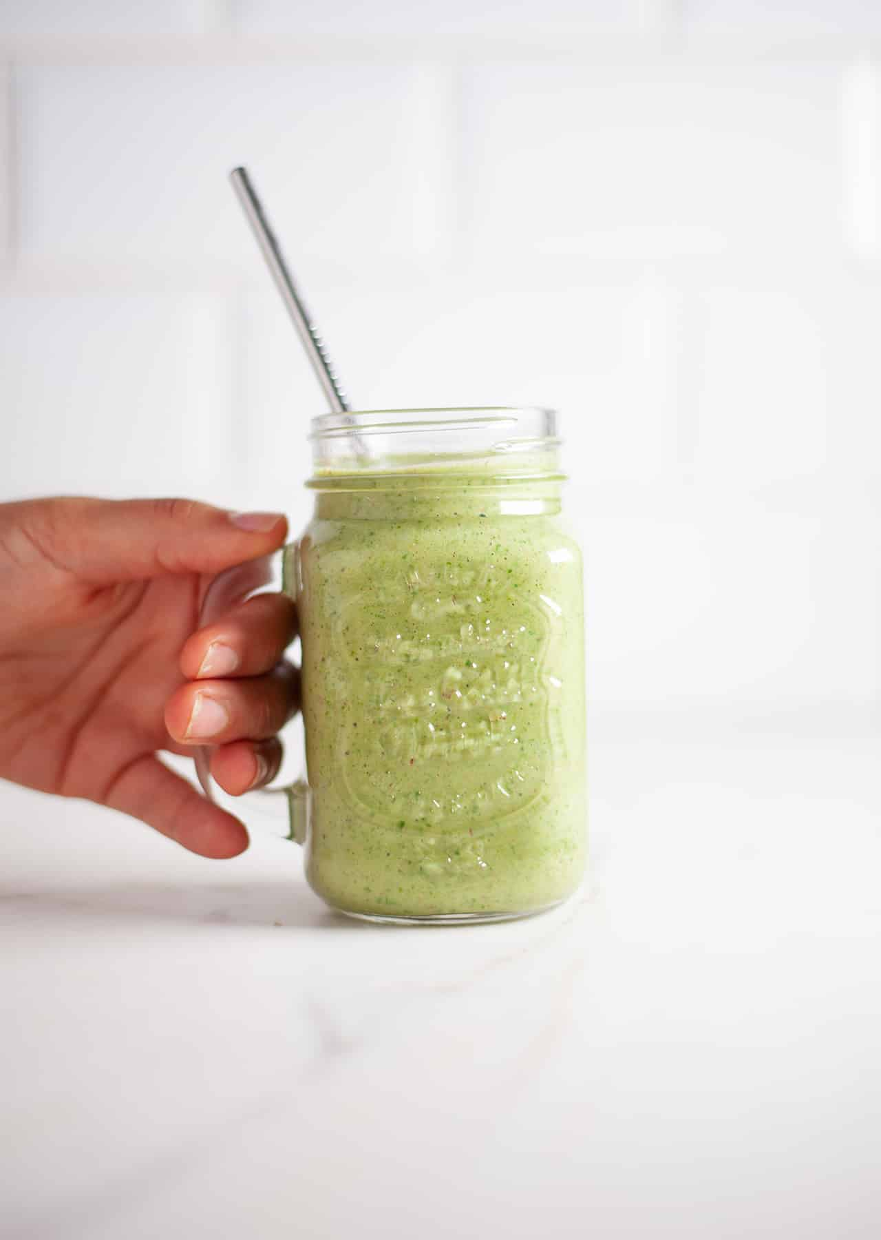 Super Green Vegan Protein Smoothie