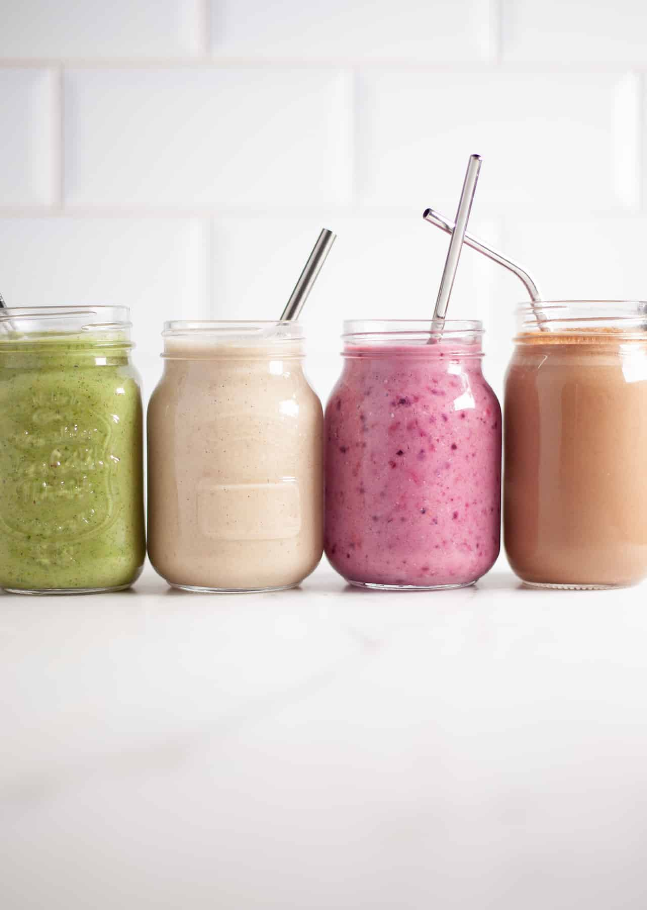 Plant Powered Protein Smoothies 4 Ways So Vegan