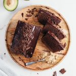 Vegan Fudgy Chocolate Avocado Loaf