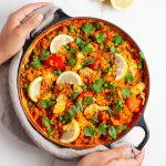One-Pot Vegan Paella