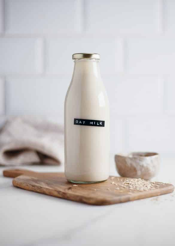 Homemade Vegan Oat Milk