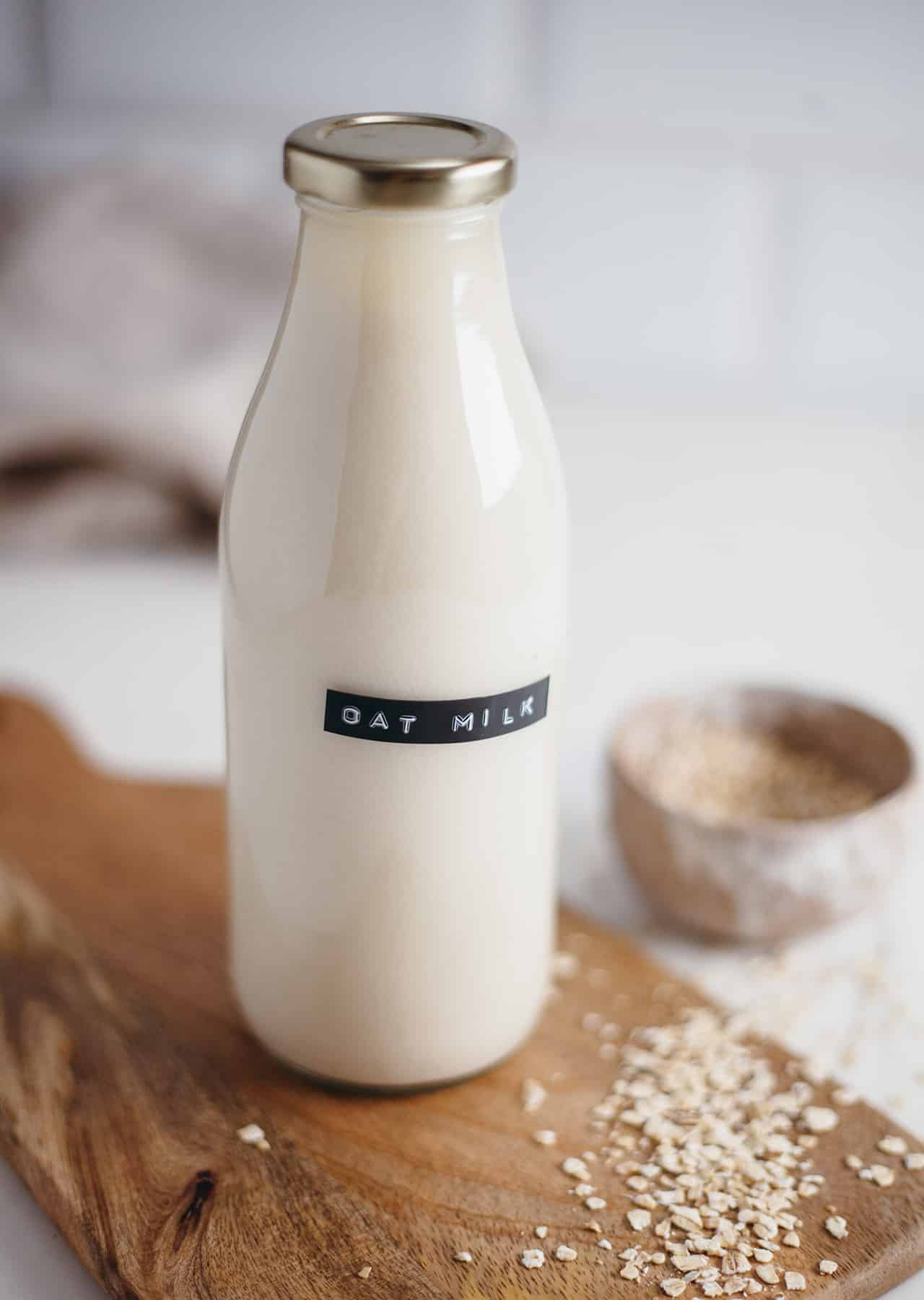 How To Make Homemade Oat Milk So Vegan
