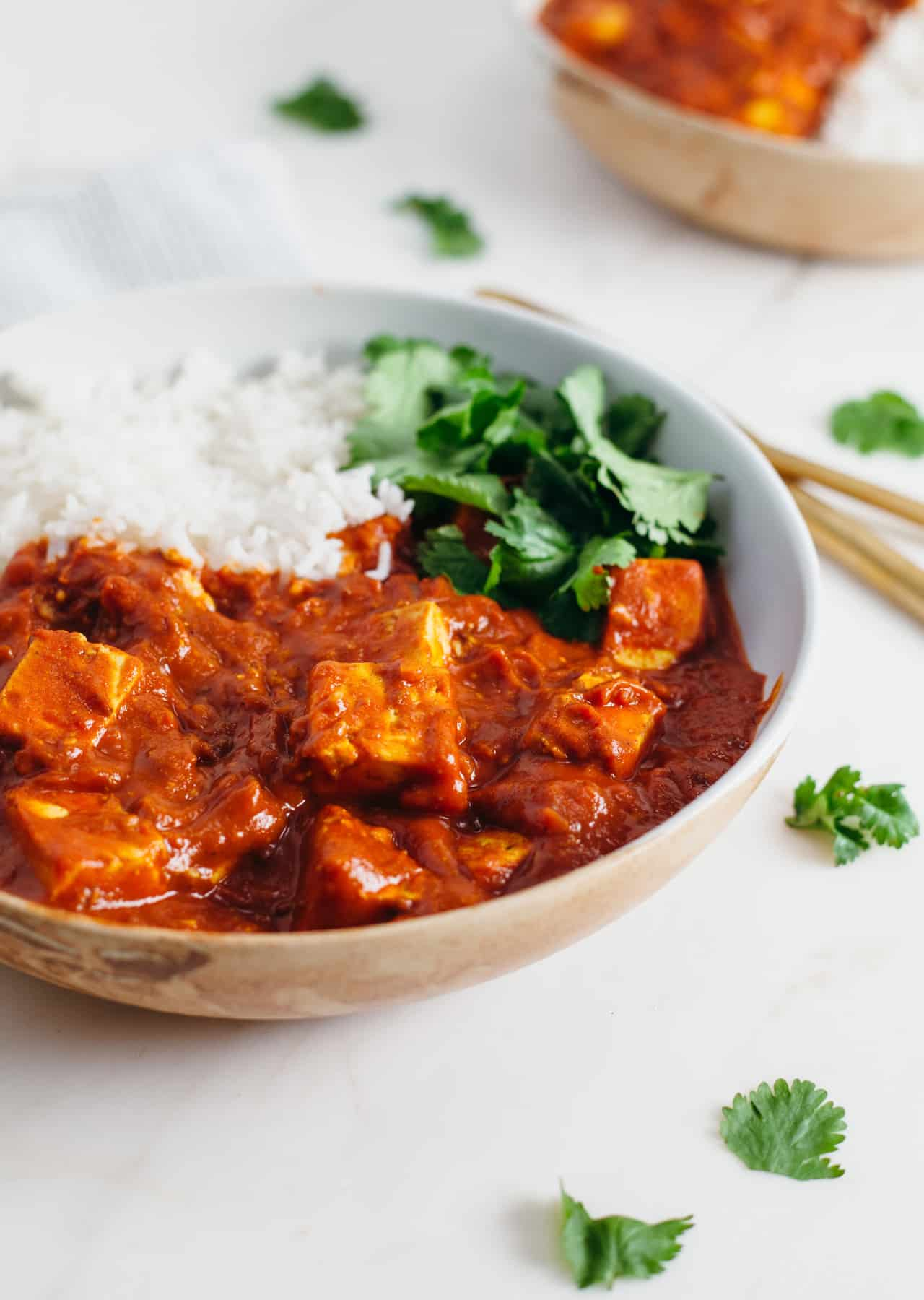 Tofu Tikka Masala So Vegan