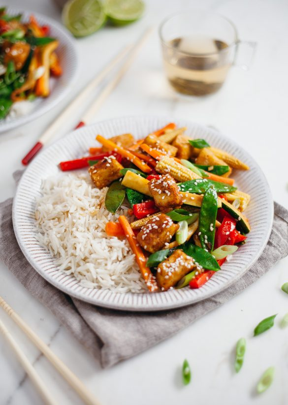 Super Easy Vegan Tofu Stir Fry Recipe