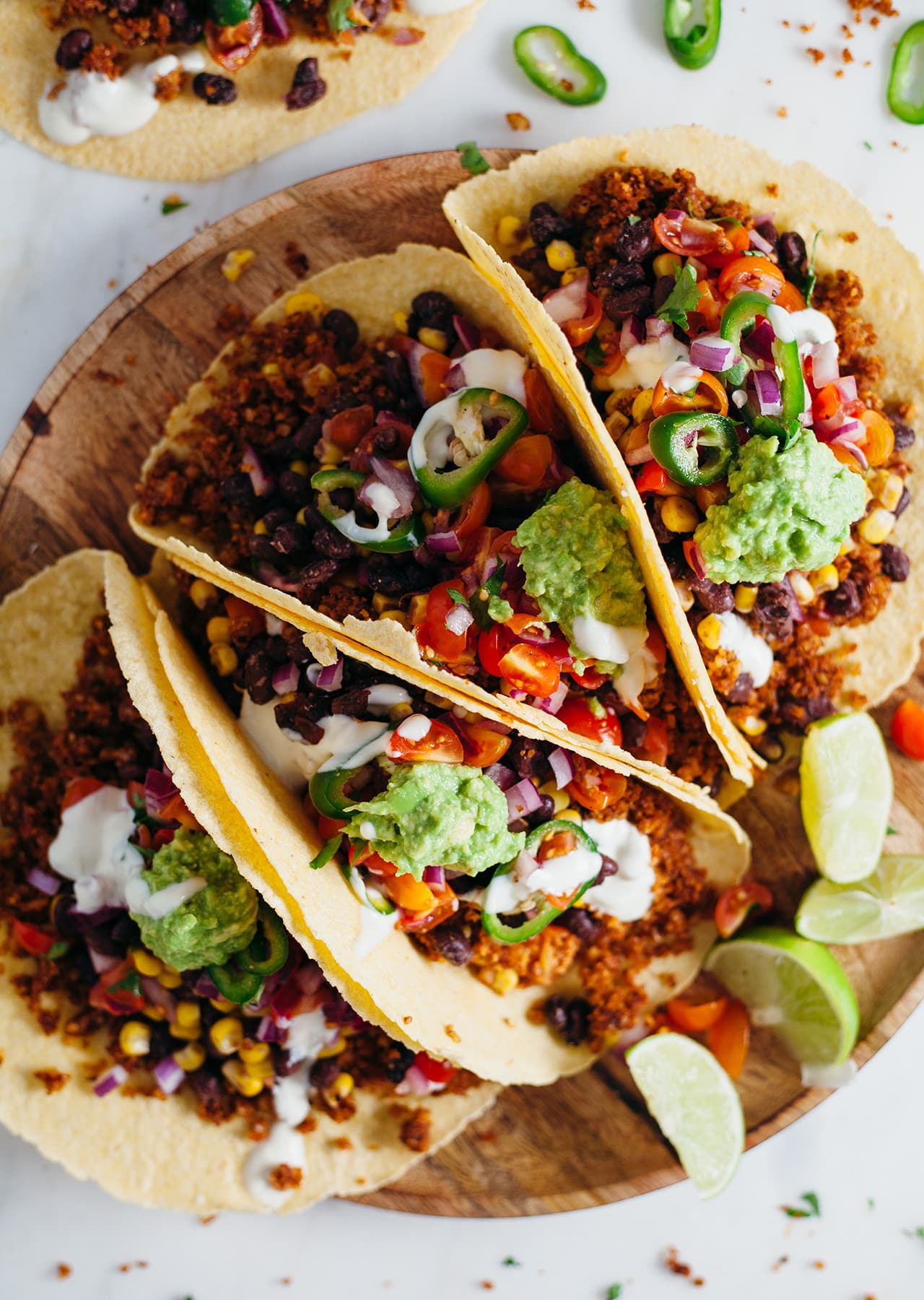 Walnut Meat Tacos Vegan Recipe