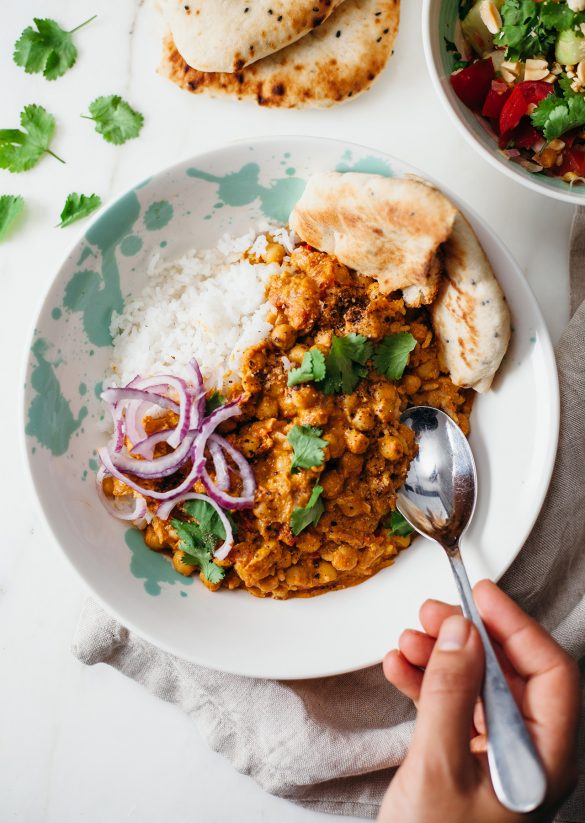 Easy Vegan Chickpea Curry Recipe