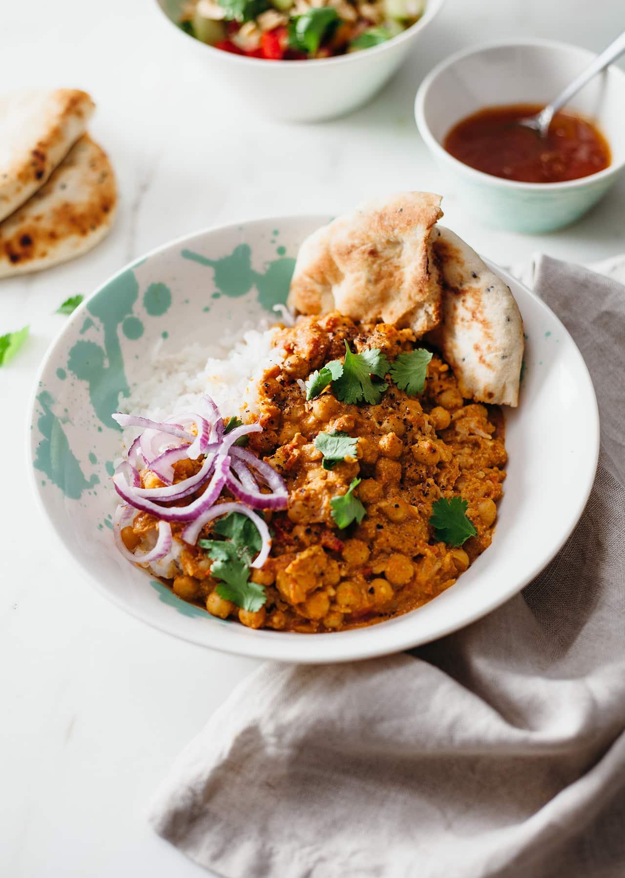 Easy Vegan Chickpea Curry Recipe