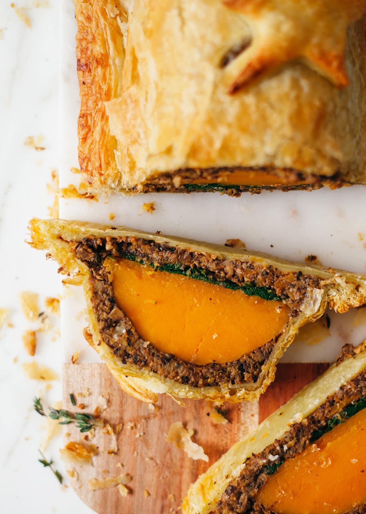 Vegan Butternut Squash Roast Wellington Recipe