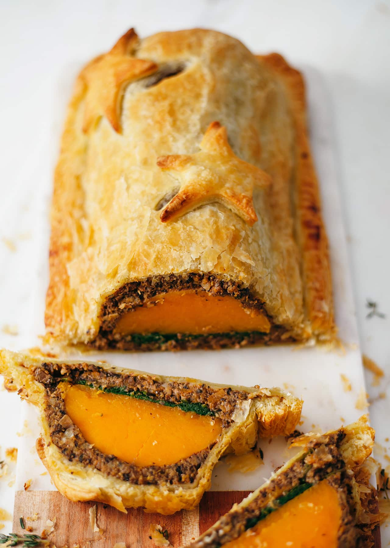 Vegan Butternut Squash Roast Wellington Recipe