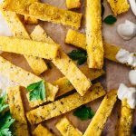 Homemade Polenta Chips Vegan Recipe