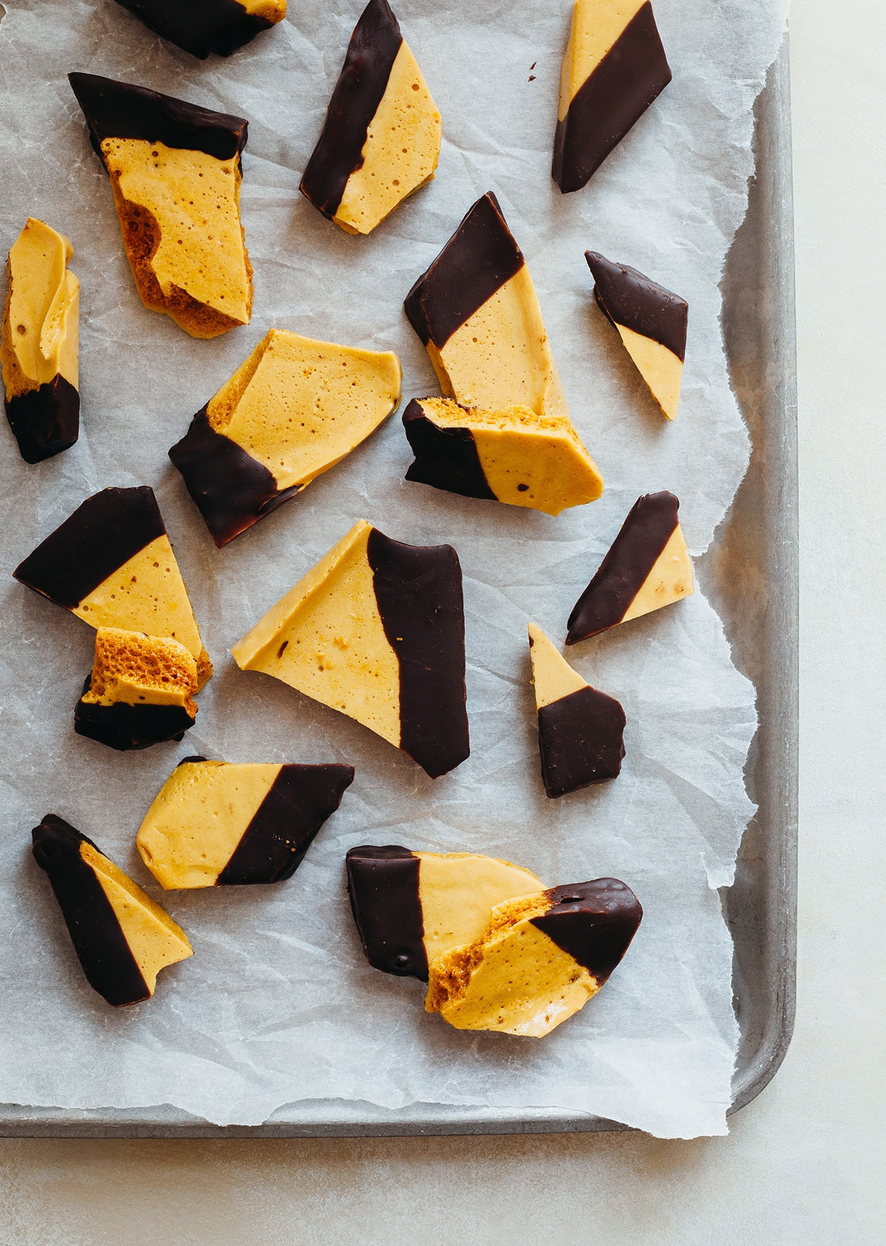How to make vegan honeycomb recipe