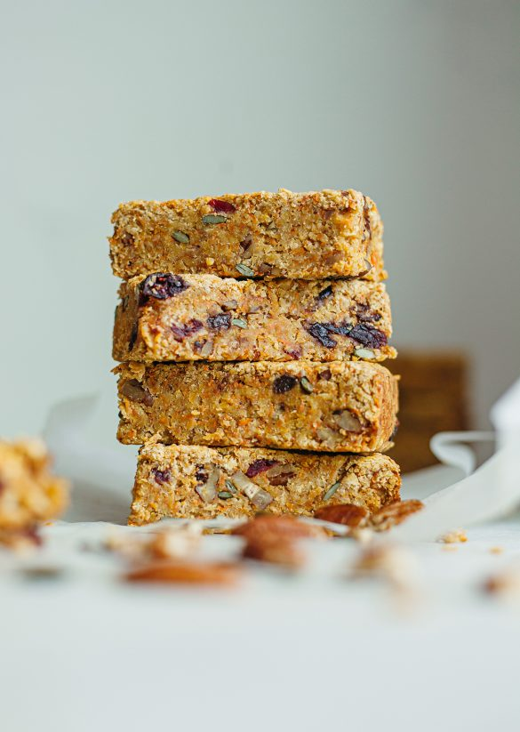 Vegan Carrot Cake Flapjack Recipe