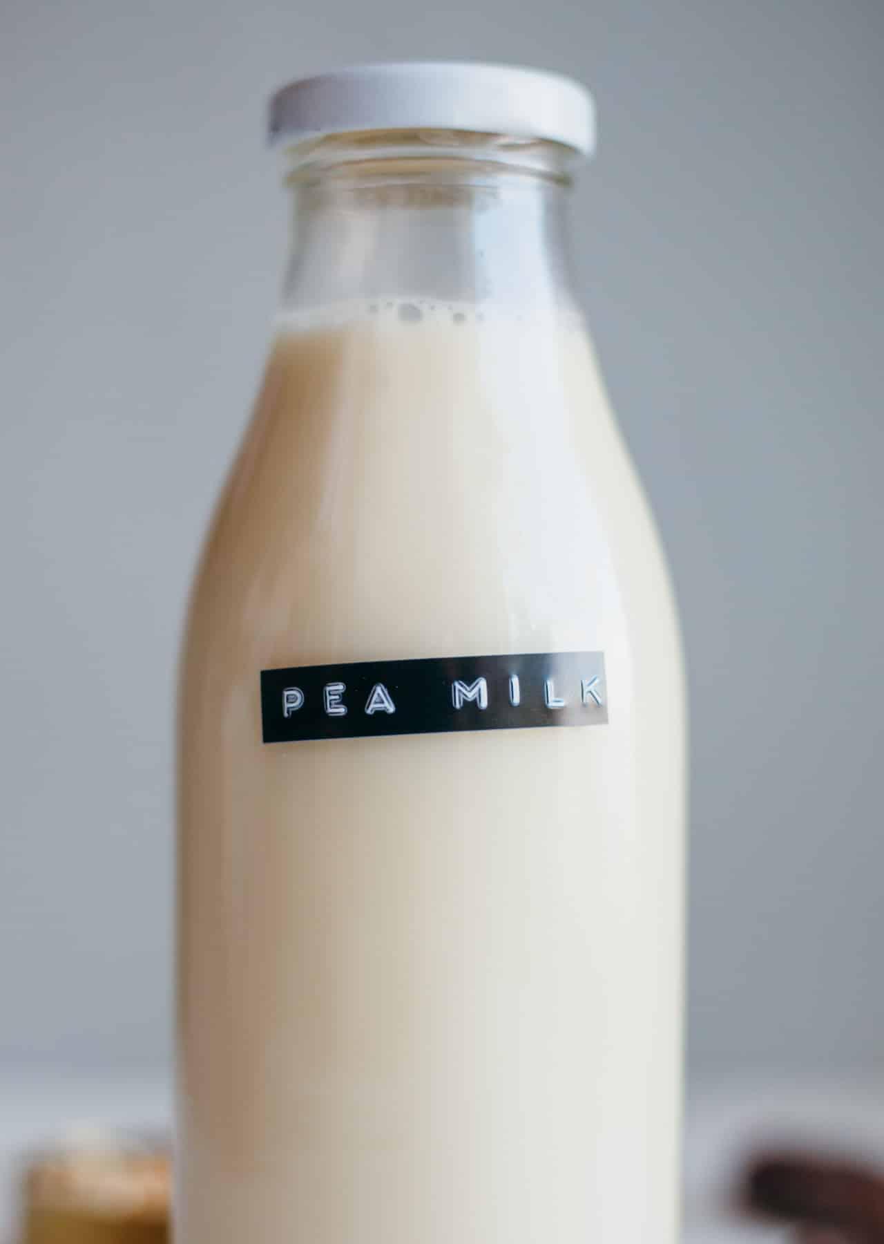Vegan Homemade Plant Pea Milk Recipe