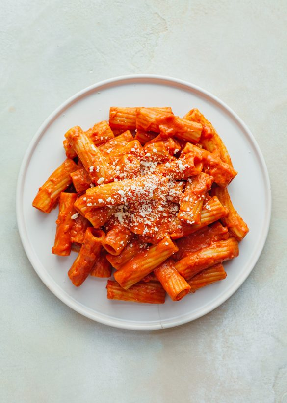 Vegan Vodka Rigatoni Recipe