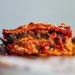 Vegan One Dish Aubergine Sweet Potato Lasagne