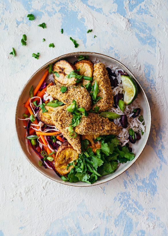 Vegan Jerk Tempeh Bowl Recipe