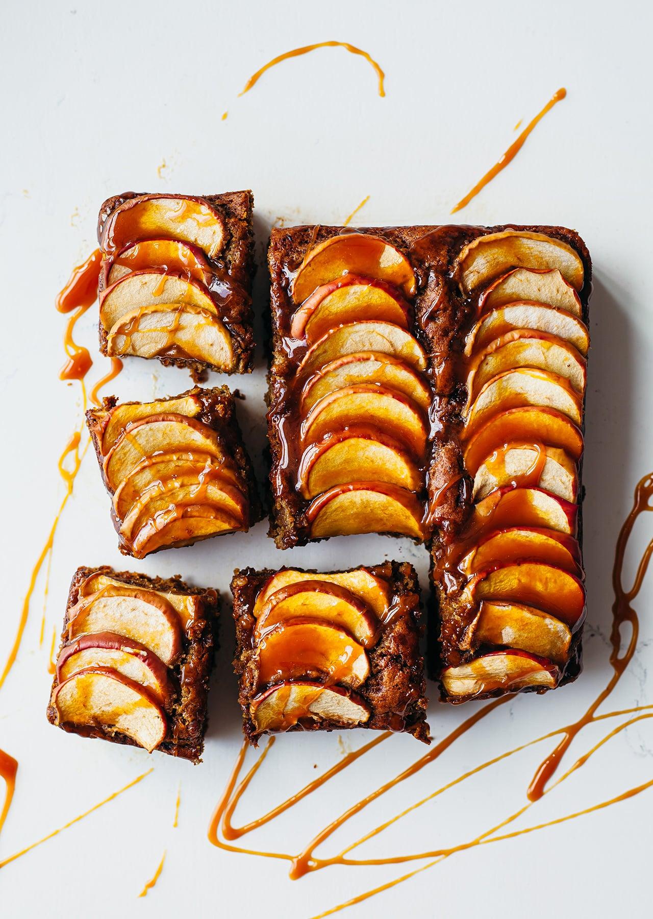 Vegan Sticky Toffee Apple Pudding Recipe