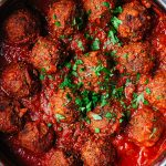 Smokey Spanish Style Vegan Meatballs Recipe