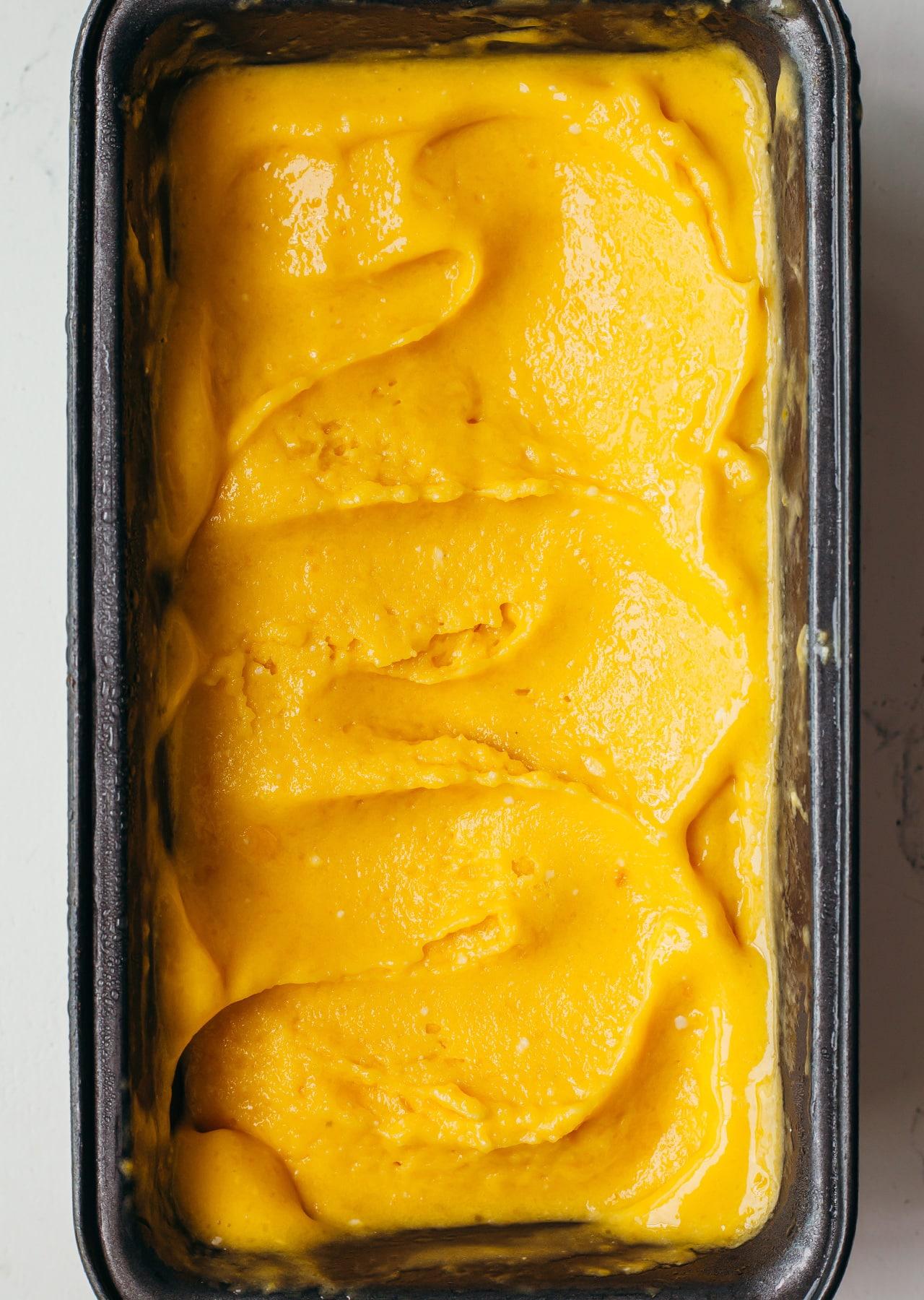 Mango Mojito Sorbet Vegan Recipe