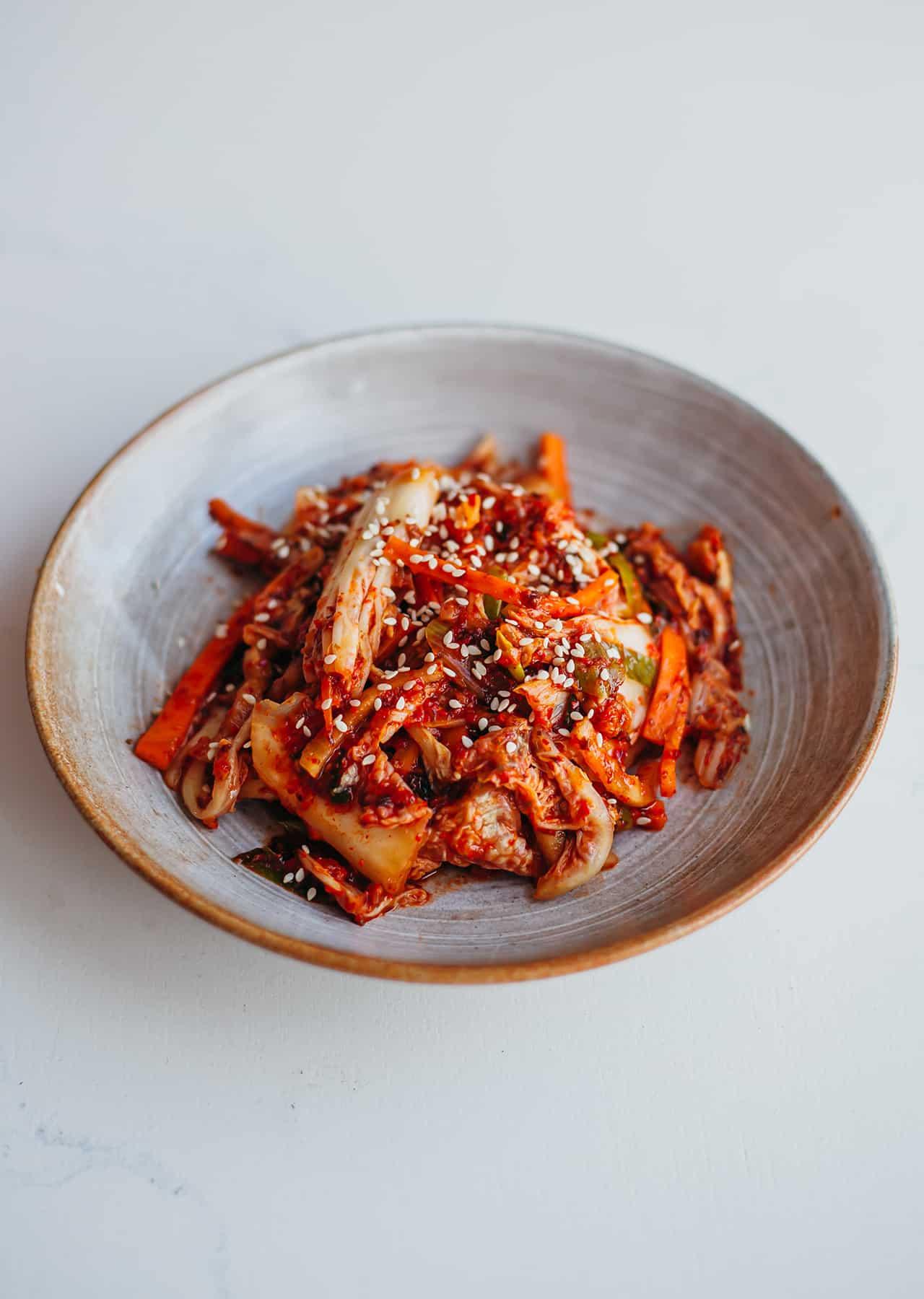 How To Make Vegan Kimchi Recipe