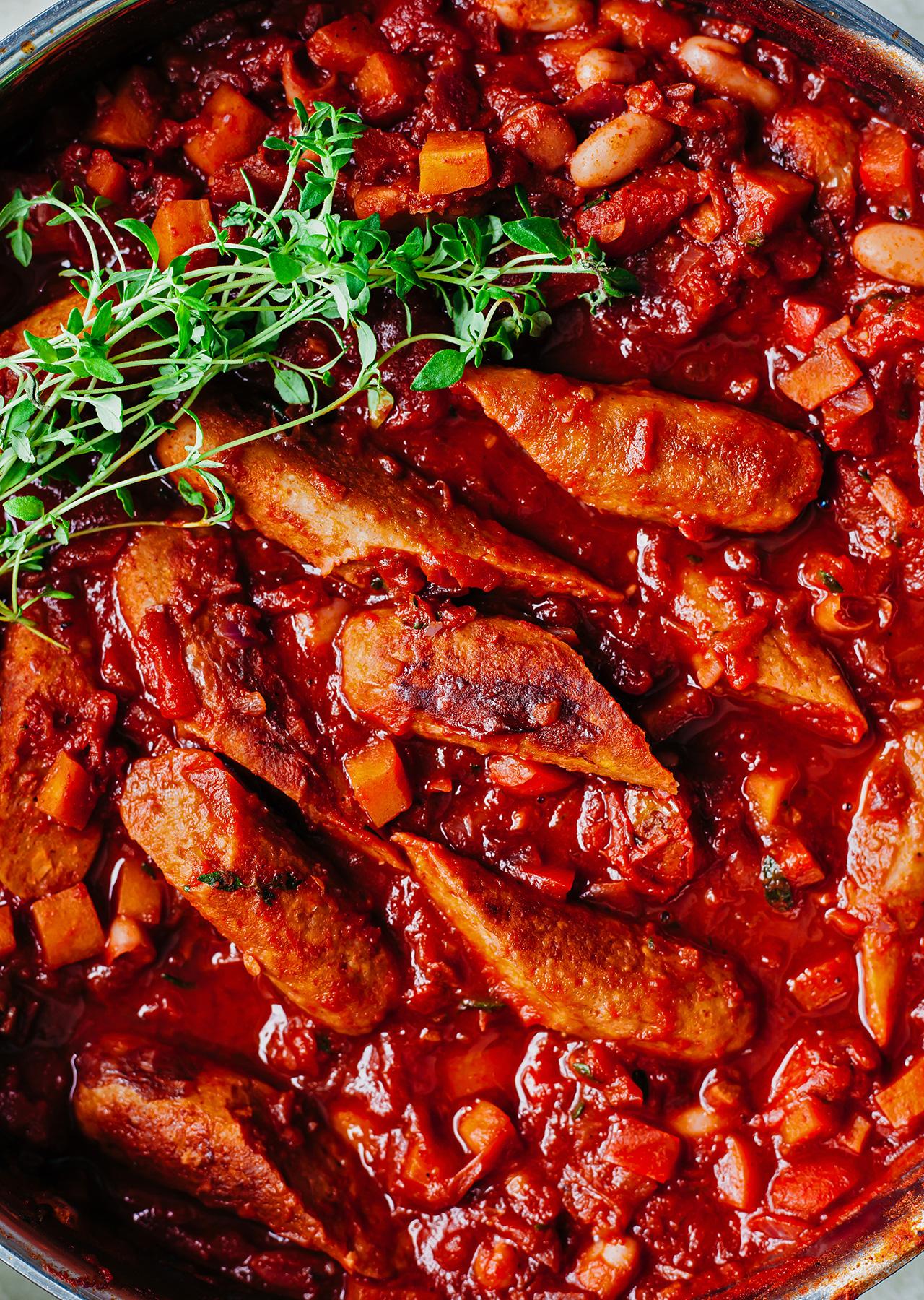 Vegan Sausage Casserole Recipe