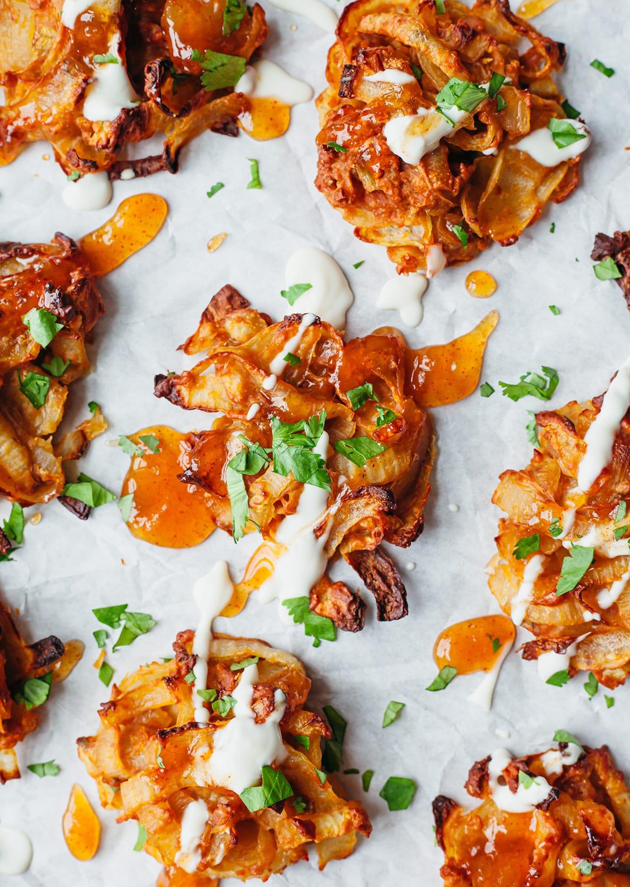Vegan Baked Onion Bhaji Recipe