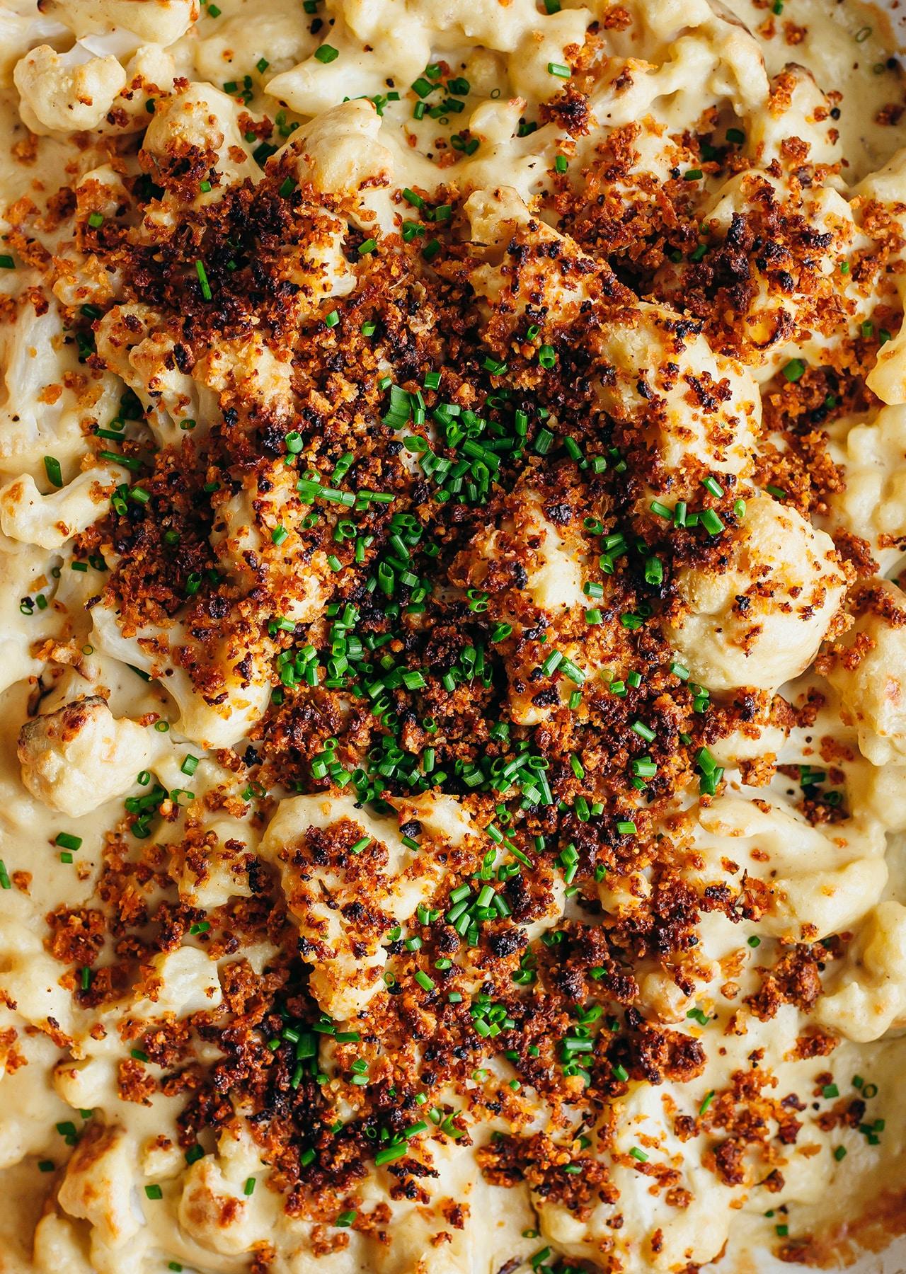 Vegan Cauliflower Cheese Recipe